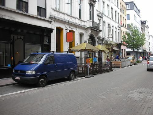 A Parklet in Antwerp