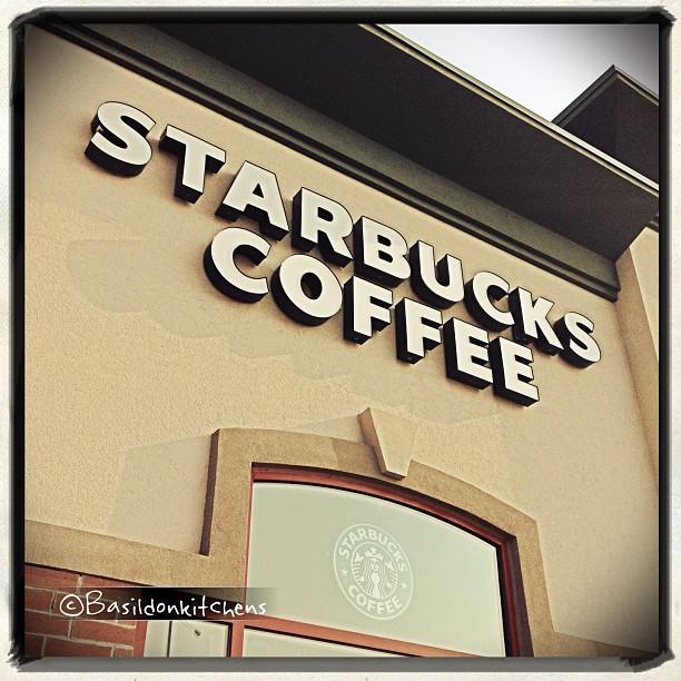 June 25 - star {my favorite; 'Star'bucks!} gotta have my morning coffee #photoaday #star #Starbucks #coffee #morning #yum