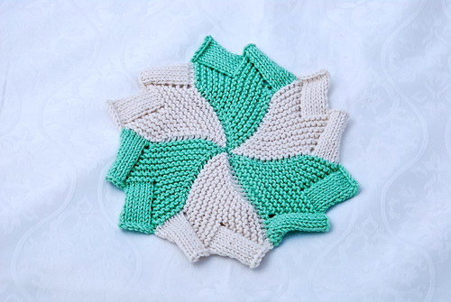 Windmill dishcloth