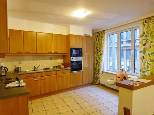 enormous kitchen