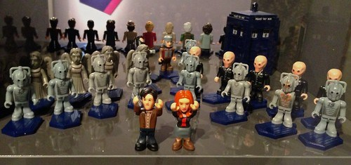 A photo of Doctor Who and his enemies, which doesn't really relate to tetanus.