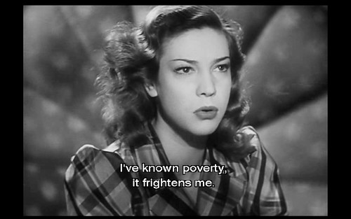 Poverty frightens me (Rome Open City)