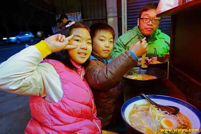 [八德.美食]豚戈屋台拉麵~路邊深夜食堂餐車.每日限量販售.矢壯拉麵 @VIVIYU小世界