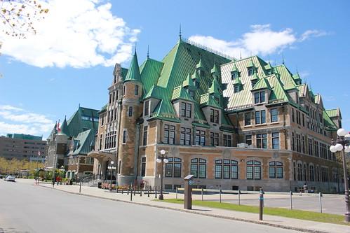 Edificio random en Québec City