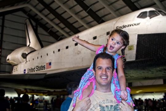 Space Shuttle Endeavour, Mike, Annie