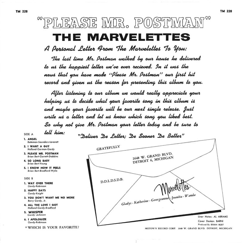 The Marvelettes Here I Am Baby