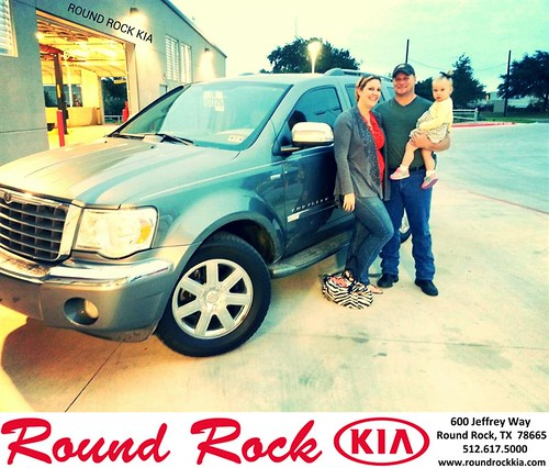 Thank you to Natasha Wofford on your new 2008 #Chrysler #Aspen from Kelly  Cameron and everyone at Round Rock Kia! #RollingInStyle by RoundRockKia