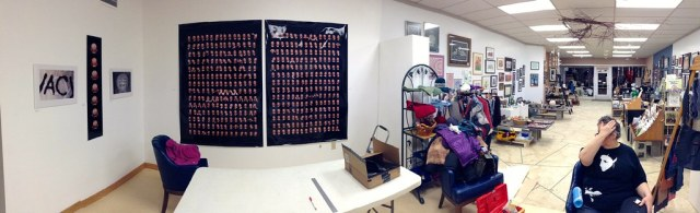 Panorama of joint PRCA show with WeatherGrrrl (2/2)