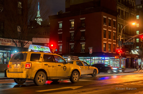 Night Taxis by Joel Raskin