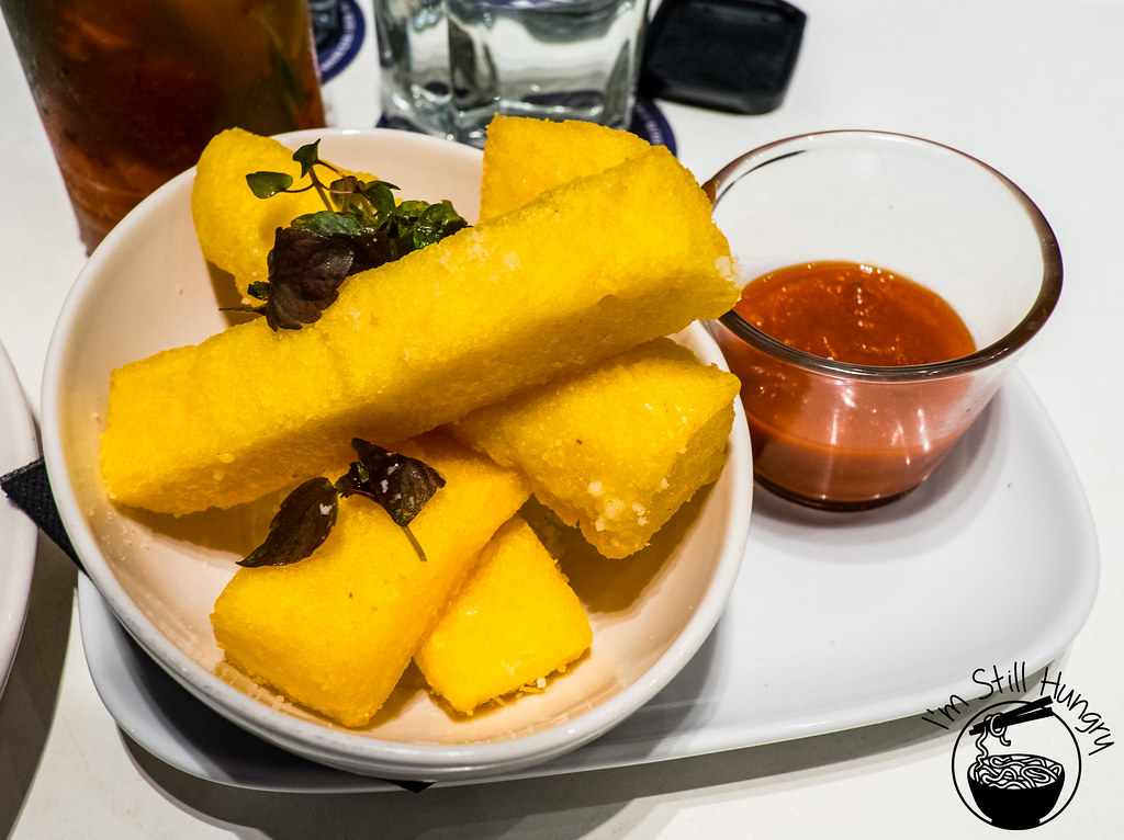 The Flynn, twice cooked polenta fries