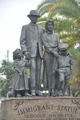 Immigrant statue, Ybor city, Tampa