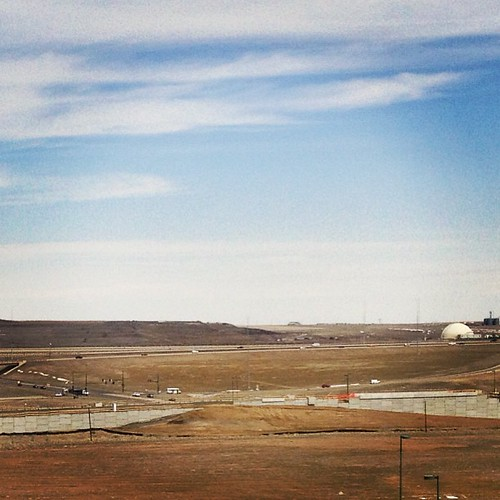 Train construction from DIA to downtown #denver by @MySoDotCom