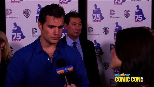 Henry at Comic Con