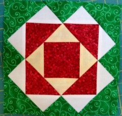 Jingle Pieced block 6