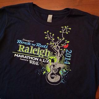 Rock 'n' Roll Raleigh T-shirt