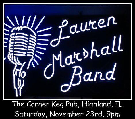 Lauren Marshall Band 11-23-13