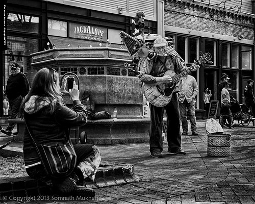 Multi-instrumentalist | Pearl Street Mall, Boulder, CO | May, 2013 by Somnath Mukherjee Photoghaphy