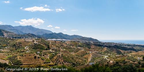 View towards Frigiliana