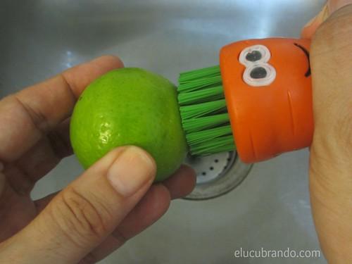 Limpiar el limón