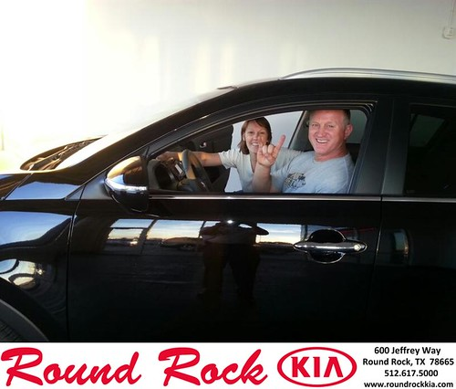 Thank you to Teresa Fulps on your new 2014 #Kia #Sportage from Fidel Martinez and everyone at Round Rock Kia! by RoundRockKia