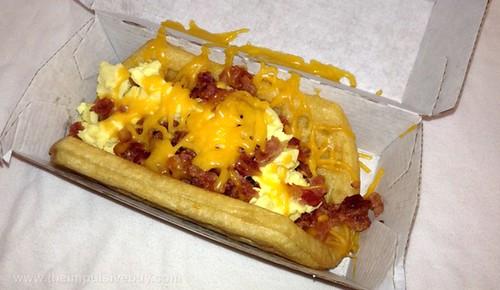 Taco Bell Bacon Waffle Taco