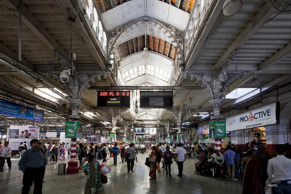 Inside the Chhatrapati Shivaji Terminus