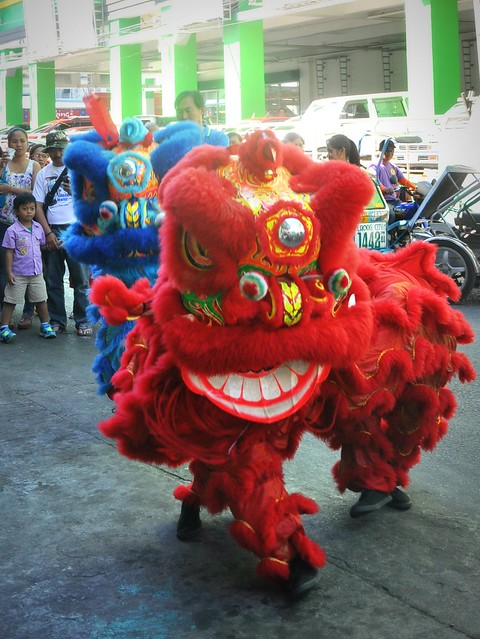 Lion Dance in Laoag