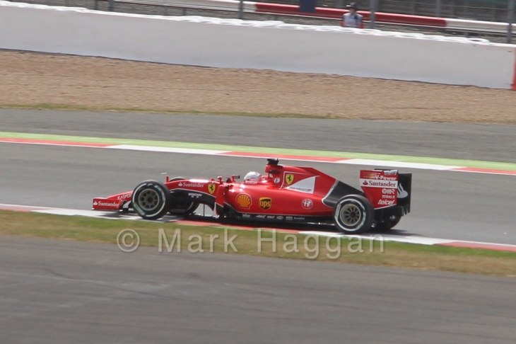 Free Practice 2 at the 2015 British Grand Prix