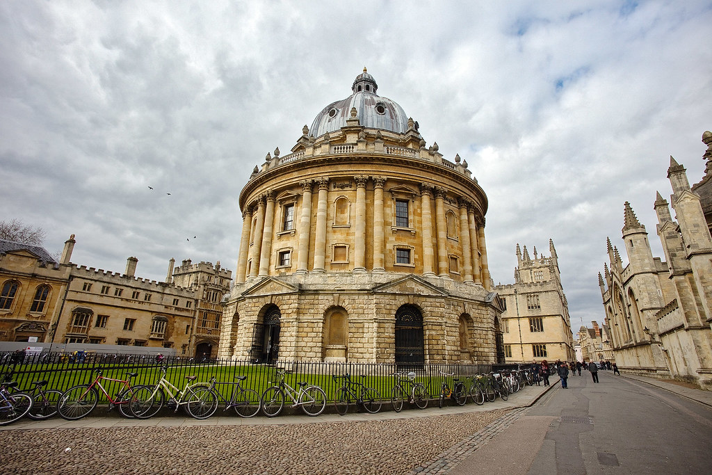 The Radcliffe Camera in Oxford.