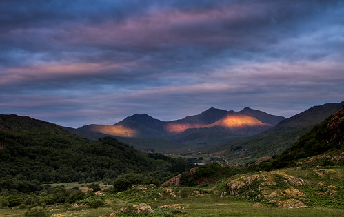 Morning Flames - The Snowdon Massif