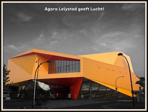 Agora Lelystad geeft Lucht!