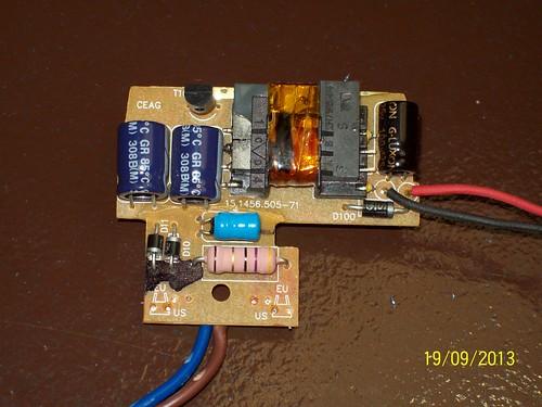 Circuit de carregador de mòbil