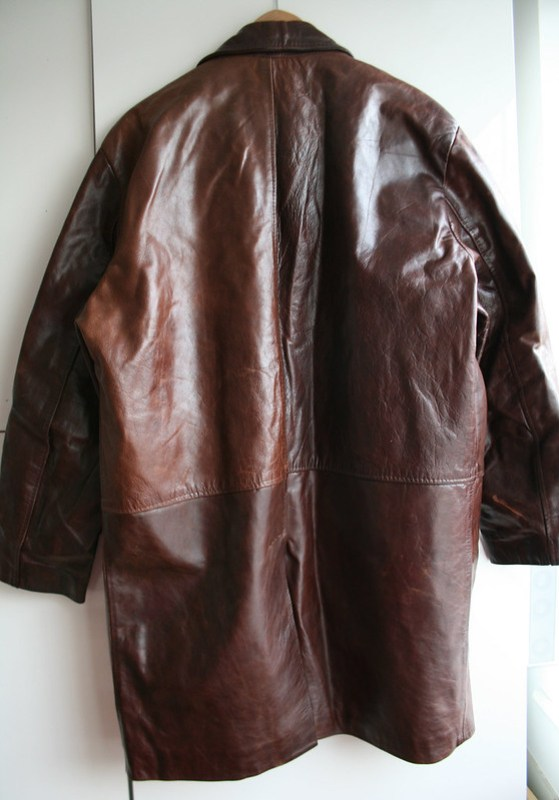 Big leather coat 2