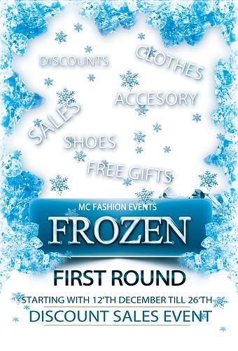 Logo Frozen Event