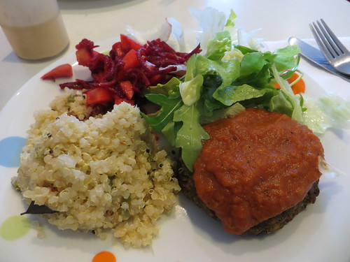 heart garden lentil burger