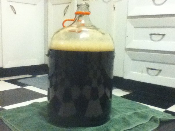 Version 1.0 of GPS, just brewed and ready for yeast. Soon, it will be beer.