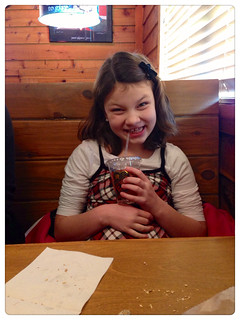 Texas Roadhouse Sunday lunch!