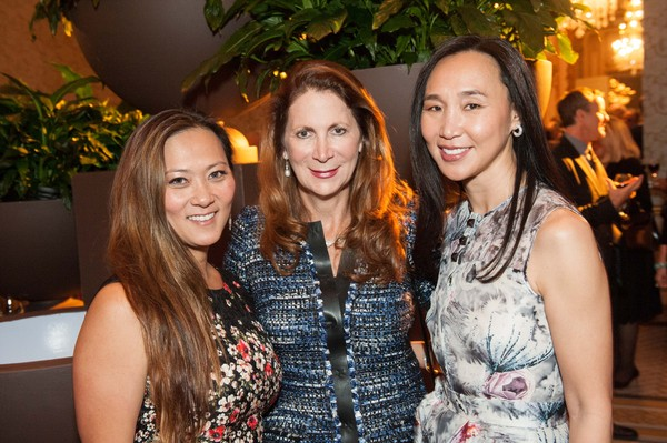 Elizabeth Fullerton, Patricia Ferrin Loucks, Carolyn Chang