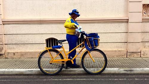 Mailwoman in Patrocinio
