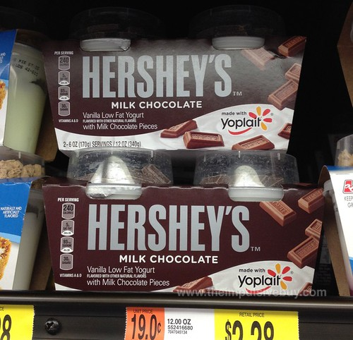 Yoplait with Hershey's Milk Chocolate