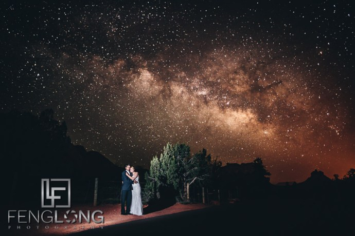 Ashley & Gaurav's Wedding in Sedona, Arizona 5/20/12 | Milky Way Wedding Photo Re-Visited for Blog