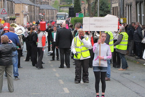 Greenfield Contest, Marsden Silver Band, Chew Valley Road