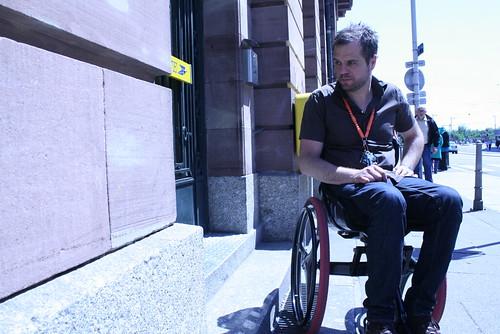 Accessibilité handicapés à Strasbourg