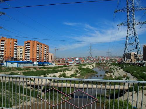 Leaving (west) Ulan Bator - Mongolia