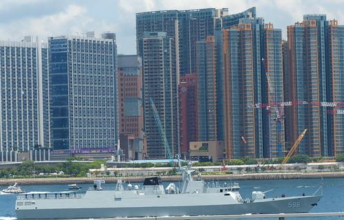 Chinese corvette