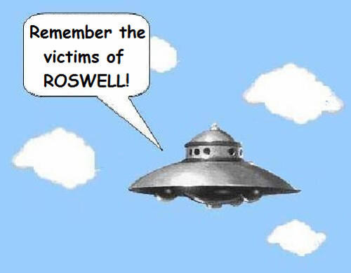 Roswell UFO Crash Anninversary