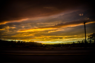 Edgefield Ramble-Dramatic Sky