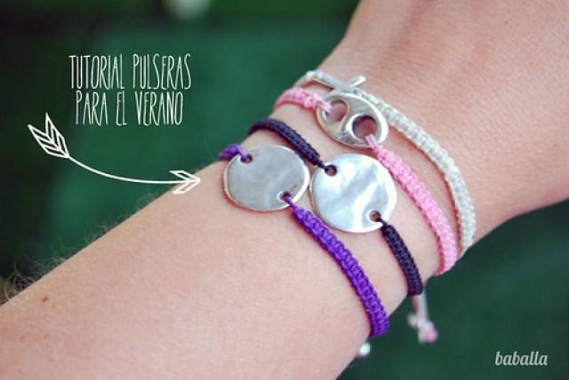 faf0bc67db2d DIY  cómo hacer pulseras para este verano - Baballa un blog de ...