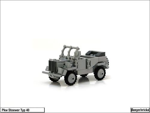 Pkw Stoewer typ 40 de Panzerbricks