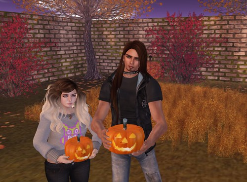 Nani's Poses OMGacha - Me and My Pumpkin #7
